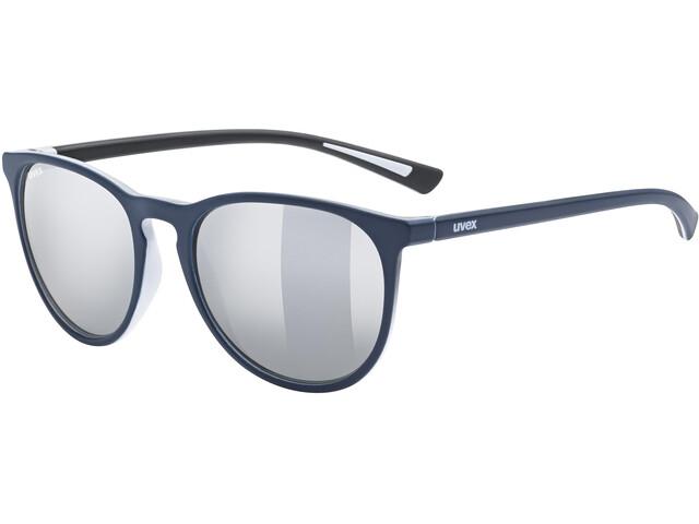 UVEX LGL 43 Gafas, azul/Plateado